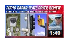 Photo-radar-plate-cover