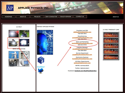 Applied Physics Inc