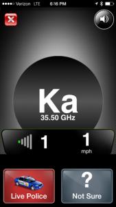 Ka Band Radar Detector Alert