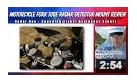 motorcycle fork tube radar detector mount review