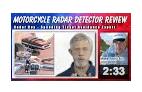 motorcycle radar detector review