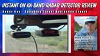 Instant On Radar Test