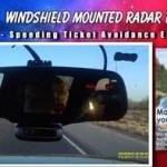 Remote vs windshield radar detector