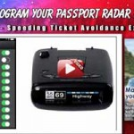 Program Passport radar detector